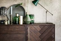 Styling:  On the Credenza
