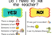 Posters in the classroom
