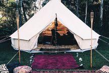 Tipi camping