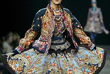 Ethnic fantastic clothing