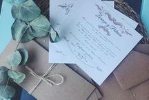 Stationery / Invitaciones de boda