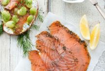 smoked salmon / by Uyen Luu