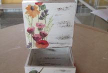Decupage Boxes