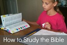 How to teach your kids to study the bible