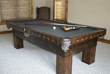Rustic Gameroom Barnwood Style / Rustic Game Room furnishings; quality products, hand-crafted, usa made.