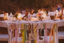 Bohemian Weddings / Boho design inspiration for bohemian folk weddings
