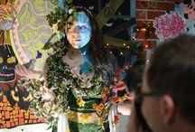 ILLUSTRATION | Projet Body Paint 2018 (Making Of) / Projet du segment Illustration urbaine dirigé par Alexandre Lafleur. Crédits photos Stéphanie Dupuis http://collegesalette.com/programmes/illustration-publicitaire/