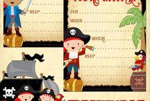 Piratas imprimibles e ideas
