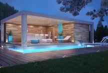 Cabanes de piscine