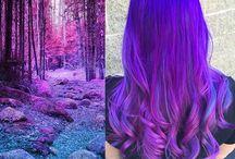 Hair: colours