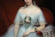 Old dress 1850-1860