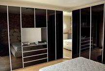 Dormitor cu Dressing Usi Sticla