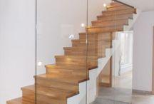 Treppen mit Glas