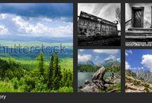 My shutterstock gallery