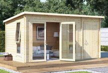 Summer house shed