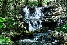 Waterfalls / Photos of various Waterfalls. I love the sound of running water. There is a tranquility that reaches out to your soul.