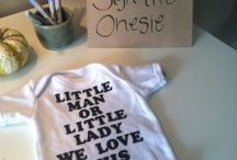 Gender Reveal Party / For when I have my 4th :)