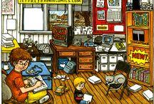 Comics & Graphic Novels!