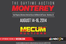Monterey 2014 - The Daytime Auction / Mecum's Monterey auction will be held August 14-16 and will feature 750 cars at the Hyatt Regency Monterey Hotel and Spa on Del Monte Golf Course in Monterey, California.