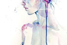 Aquarell Portrait / Aquarell Portait