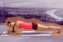 Plank Pilates workout