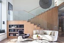 Staircases / Scale new heights with a staircase that wows with every twist and turn. / by Dering Hall