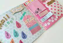 Flip book / mail folders snail mail