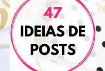 Posts idéias Abril 2018