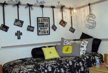 Dorm room ideas / by Shayla Osborn