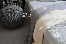 Collection Greta Cotton woven throws / Woven cotton throws / blankets in modern design and colours
