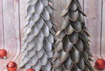 arbol navidad con cucharas