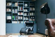 Bibliothèques salon