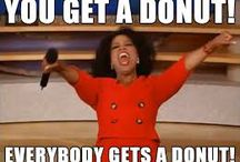 Donut Memes / We love our puns, donuts, and coffee! Have fun with these memes and be sure to check out www.PrintMeme.com to view our posters on all things donuts and coffee!