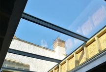 XACT Aluminium Flat Roof Light