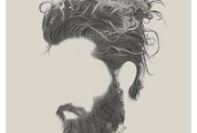 Beard and hair