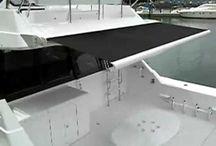 Casa de veraneio em movimento / Uma embarcação e o mar pela frente. Navegar é uma sensação única.