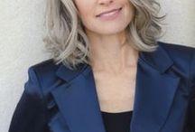 Greying hair - styles