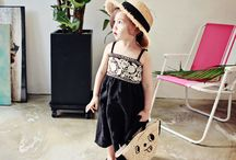 Girls' Festival Fashion / kid's & girl's fashion for festival, carnival, and fun outing.