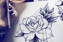 arts, draws & tattoos