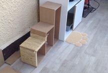 Maison de toilette pour chats / DIY Maison de toilette pour compagnon à 4 patte