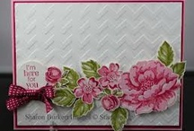 Cards - Stippled Blossoms