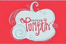 Paper Pumpkin / Crafts from monthly kits
