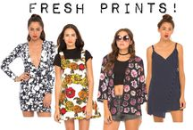 FRESH PRINTS! / Stay fresh and shop our new prints. http://www.motelrocks.com/categories/trends/fresh-prints/?frontpage=PRINTS-wc15feb-2015 / by Motel Rocks