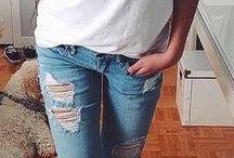 white t shirt styling