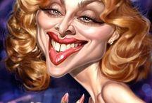 Art:Caricature, Women / karikatyyri naisesta