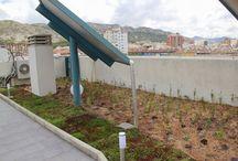 GreEn RoOf, mod. Cántir en Villena, Spain. / Esta cubierta vegetal tiene una medida total de 170m2, y el patrón a seguir para su construcción, es la cubierta Cantir y aportará una zona verde  en la cubierta del edificio, repercutiendo en ahorro en la climatización y permitirá reducir el consumo energético de los vecinos.