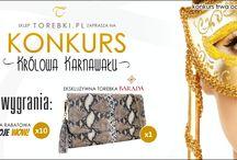 ►► KONKURS ◄◄ / W Aplikacji Konkursowej znajdziecie wieczorowe torebki z oferty sklepu www.torebki.pl. Która jest najpiękniejsza? Która zasługuje na tytuł KRÓLOWEJ KARNAWAŁU? Wybierzcie jedną torebkę i uzasadnijcie swój wybór. Najciekawszą wypowiedź nagrodzimy ekskluzywną torebką marki BARADA !  Głosowanie trwa do 25 lutego!  Szczegóły w Aplikacji Konkursowej >> www.facebook.com/TorebkiPL/app_468649833190776