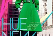 Jessiann Gravel by Chris Nicholls in Fashion Magazine