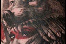 Tatouages amérindiens