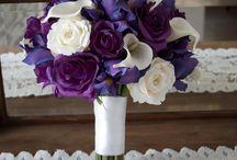 diy wedding bouquet bridal party